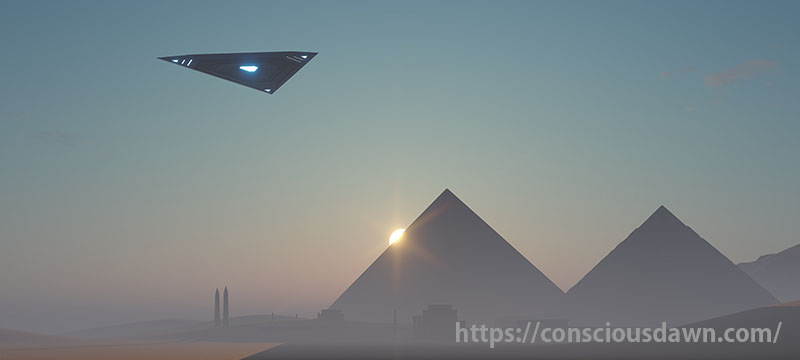 バシャールと言えば黒い三角形のUFO