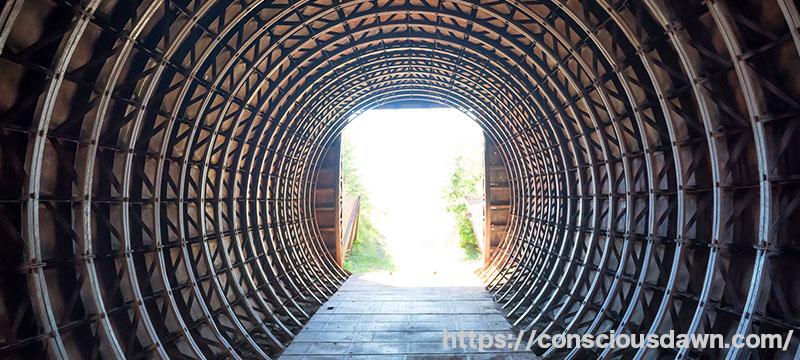 トンネルを抜けるとそこは天国?