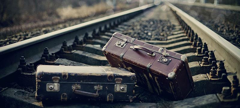 過去に置き忘れた荷物