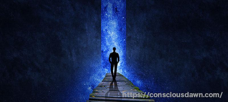 別の世界への入り口が開く