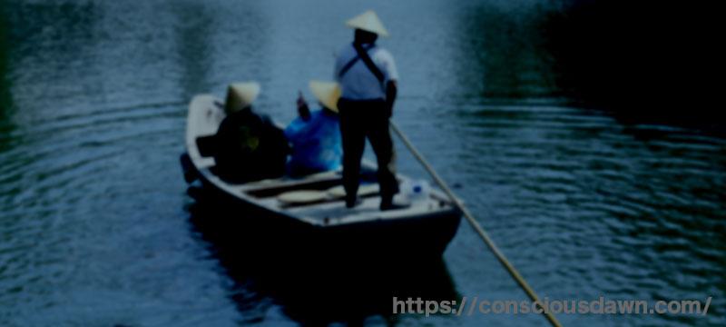 三途の川の渡し船